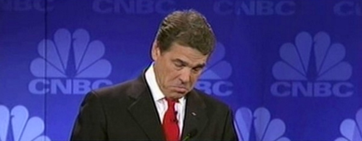 Perry's Debate Blunder:  Beyond The Nomination Issue