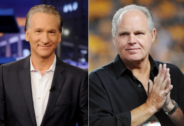 4 Reasons Why Bill Maher Is Not Rush Limbaugh