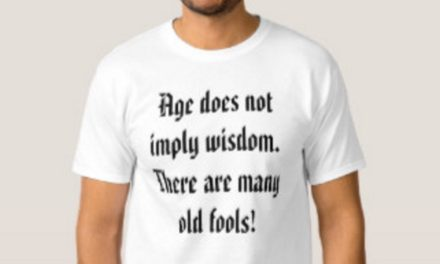 Age Does Not Equal Wisdom