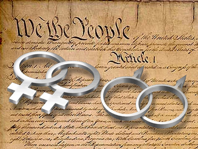 Same-Sex Marriage: Obama Shows Backbone