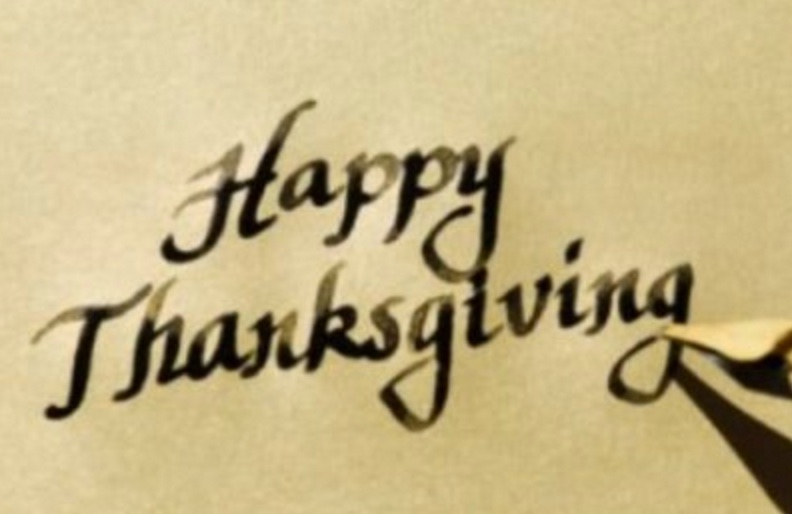 Thanksgiving Day 2012:  What I'm Thankful For