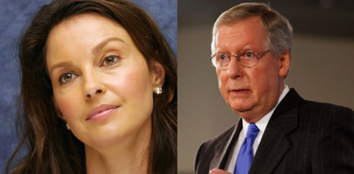 Ashley Judd vs. Mitch McConnell?