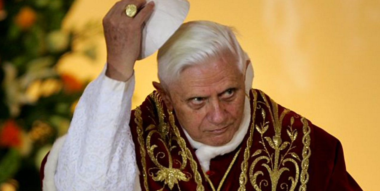 On Pope Benedict: Forgive Me If I Withhold My Benediction