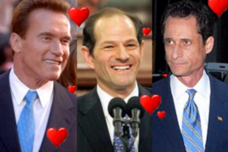 The Post-Apocalyptic Dating Game: Schwarzenegger, Spitzer & Weiner