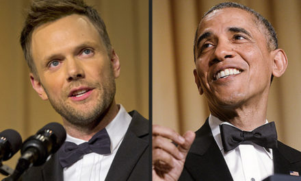 What Joel McHale Could Learn From President Obama